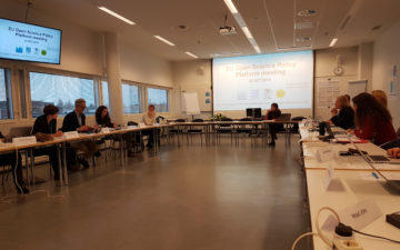 GYA Co-Chair attends two Open Science meetings in Helsinki