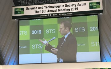 GYA members prominent during Science and Technology in Society forum in Japan