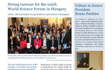 Strong turnout for the ninthWorld Science Forum in Hungary
