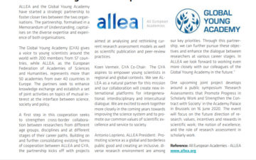 ALLEA and Global Young Academy Launch Strategic Partnership