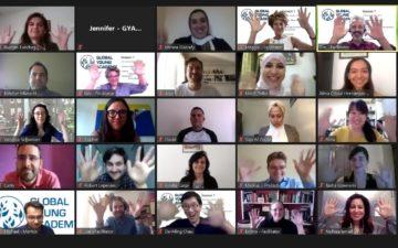 First virtual science leadership workshop for new GYA members