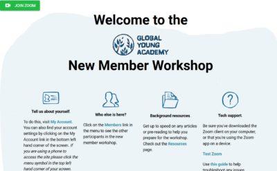 screenshot online meeting platform