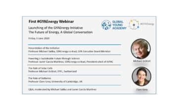 First #GYAEnergy Webinar