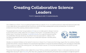 Creating Collaborative Science Leaders